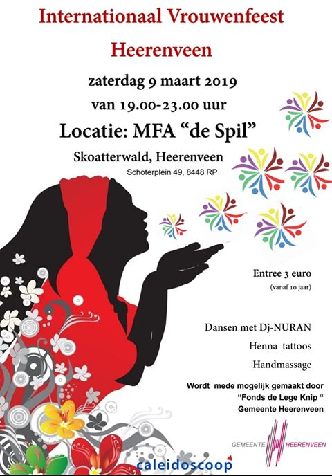 vrouwendag heerenveen 08 maart 2019
