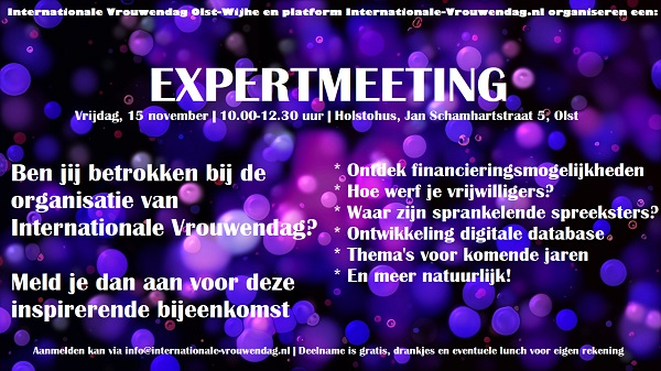 Expertmeeting