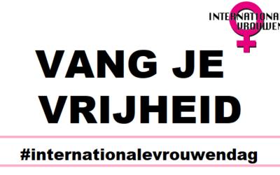 Selfiekaarten Internationale Vrouwendag 2020