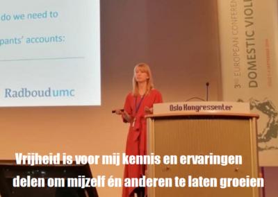 Nicole van Gelder Promovenda onderzoek partnergeweld