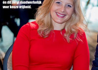 Nikkie Elfers Haarlemermeerse Actieve Politiek over Vrijheid - Internationale Vrouwendag 2020 8 maart