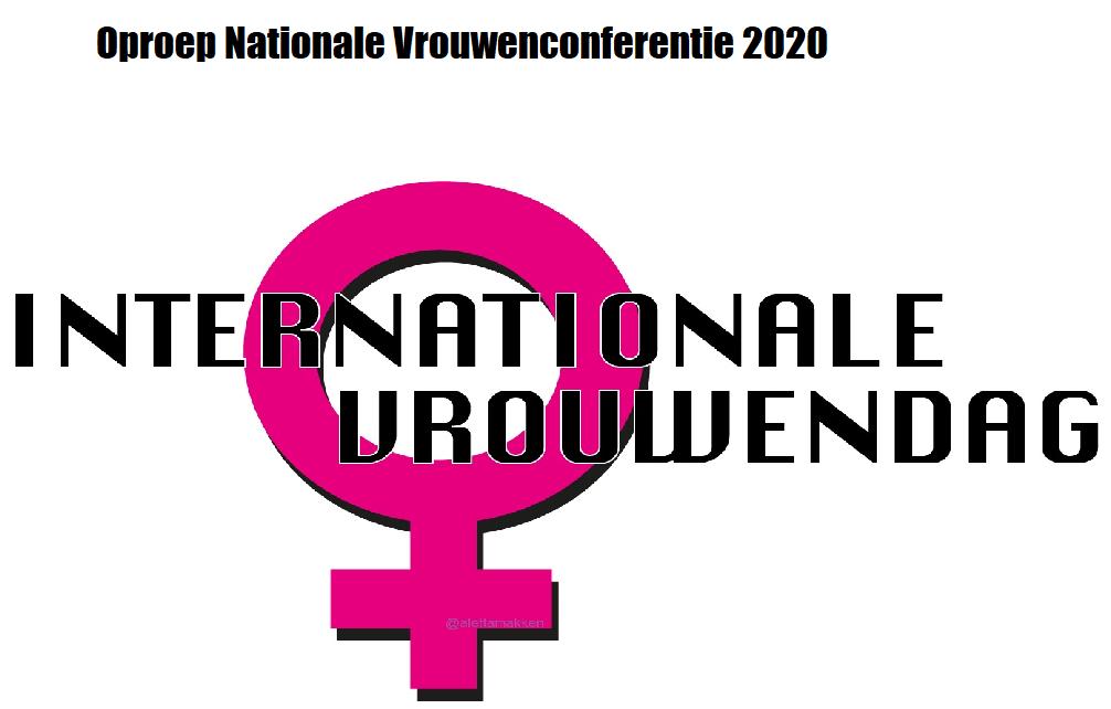 oproep nationale vrouwenconferentie 2020