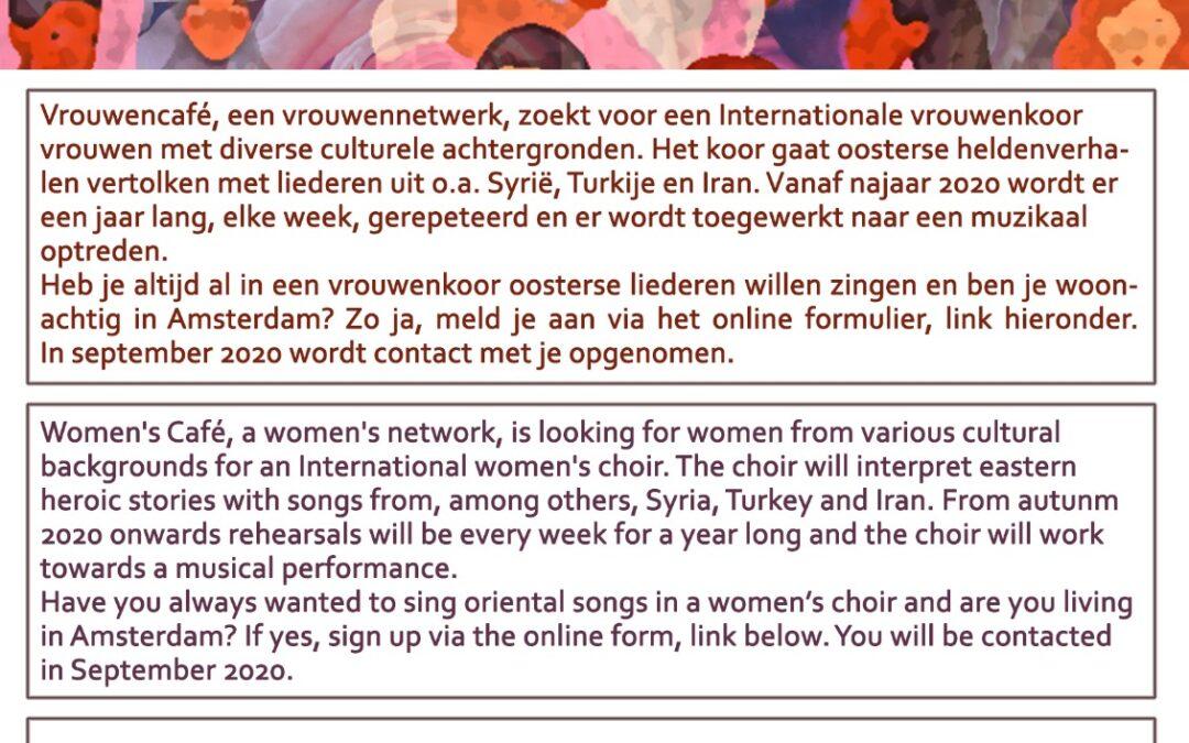 vrouwenkoor internationale vrouwendag 2020