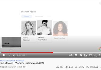 Eerste vrouw ooit…