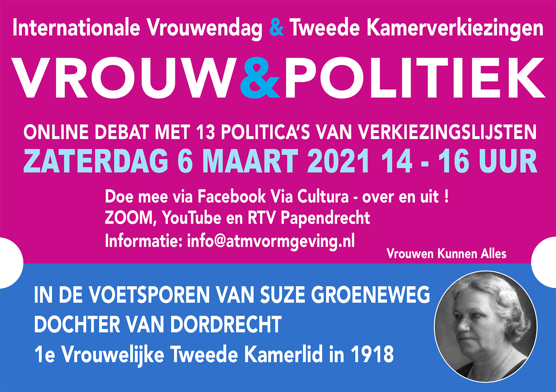 vrouw en politiek internationale vrouwendag
