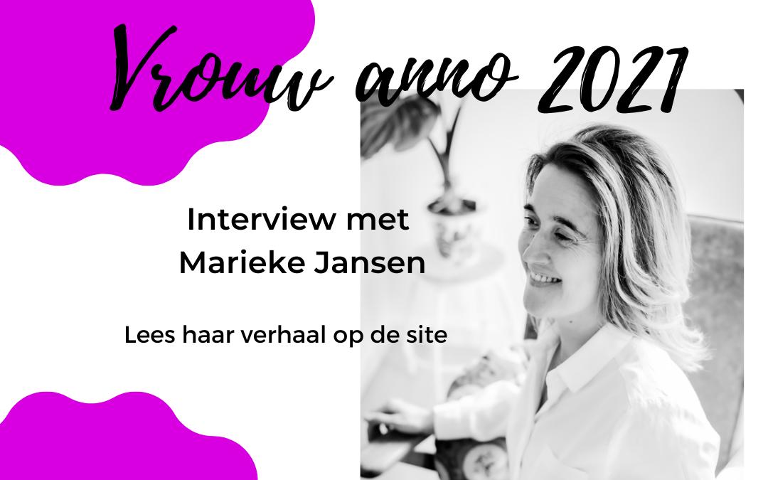 Marieke Jansen – Vrouw anno 2021