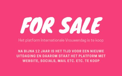Platform Internationale Vrouwendag te koop