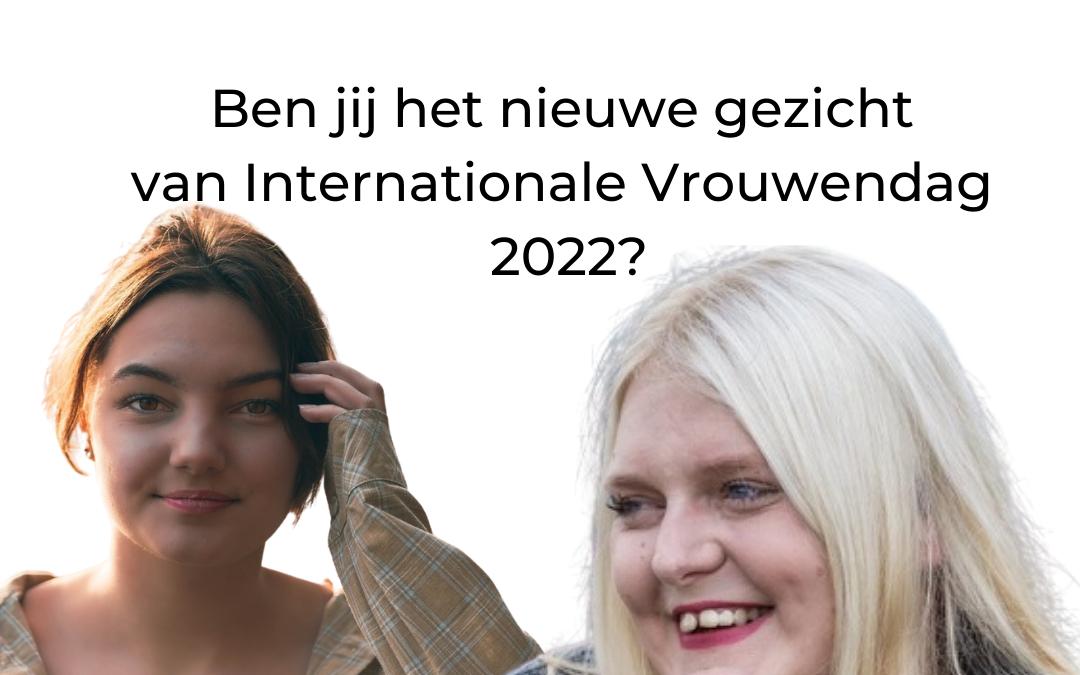 gezicht internationale vrouwendag 2022