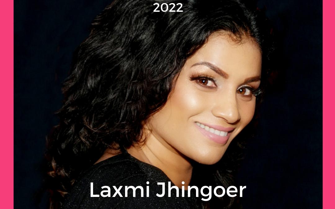 Het gezicht van Internationale Vrouwendag 2022 Laxmi Jhingoer